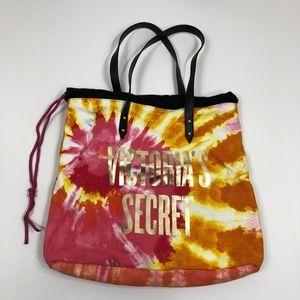 Victoria's Secret Promo Tie-Dye Drawstring Tote